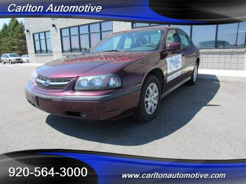 2004 Chevrolet Impala for sale at Carlton Automotive Inc in Oostburg WI