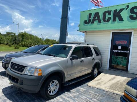 2003 Ford Explorer for sale at Jack's Auto Sales in Port Richey FL