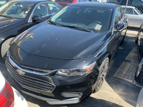2016 Chevrolet Malibu for sale at Eden Cars Inc in Hollywood FL