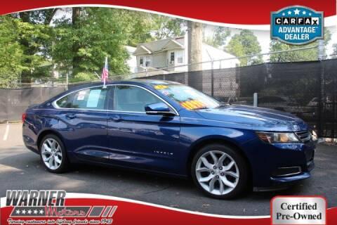 2014 Chevrolet Impala for sale at Warner Motors in East Orange NJ