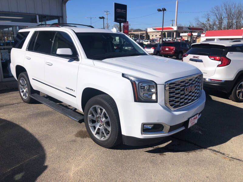 2020 GMC Yukon for sale at ROTMAN MOTOR CO in Maquoketa IA