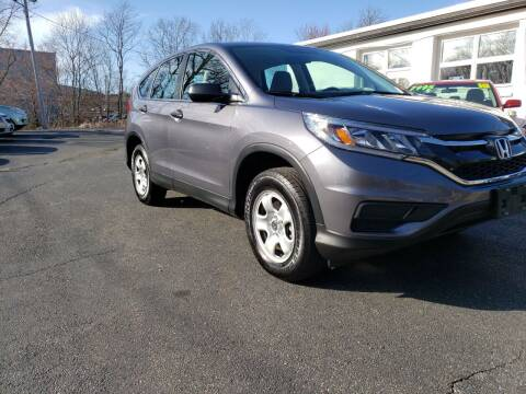 2016 Honda CR-V for sale at Highlands Auto Gallery in Braintree MA