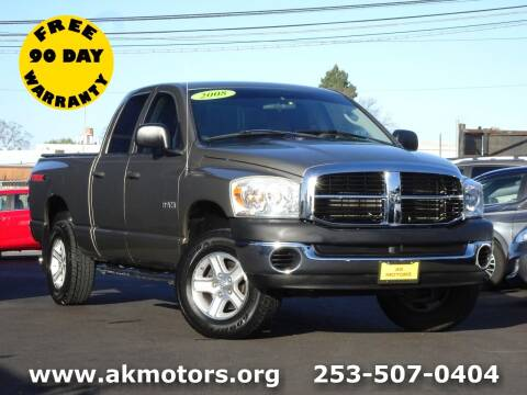 2008 Dodge Ram Pickup 1500 for sale at AK Motors in Tacoma WA