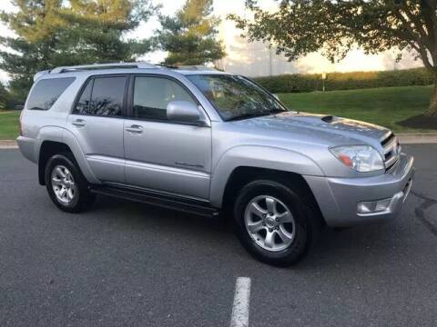 2005 Toyota 4Runner for sale at SEIZED LUXURY VEHICLES LLC in Sterling VA