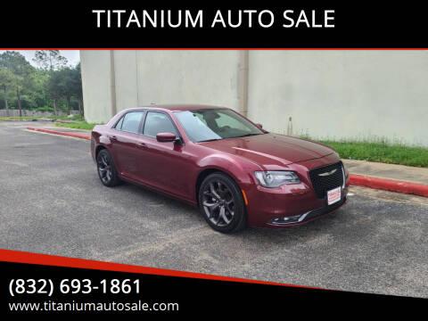 2019 Chrysler 300 for sale at TITANIUM AUTO SALE in Houston TX