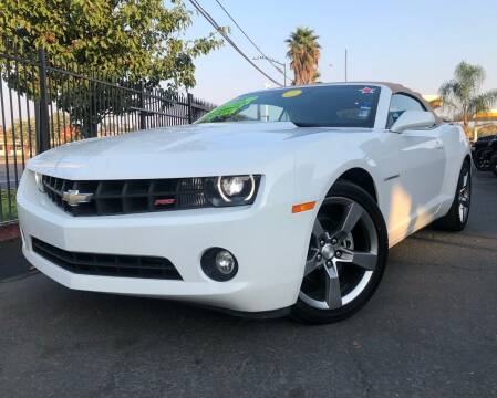 2012 Chevrolet Camaro for sale at LUGO AUTO GROUP in Sacramento CA