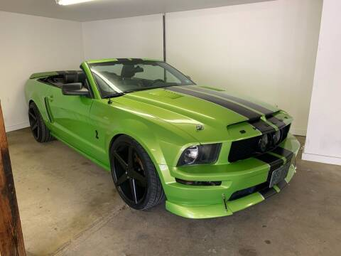 2007 Ford Mustang for sale at ds motorsports LLC in Hudson NH