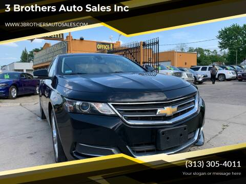 2015 Chevrolet Impala for sale at 3 Brothers Auto Sales Inc in Detroit MI