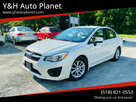 2013 Subaru Impreza for sale at Y&H Auto Planet in West Sand Lake NY