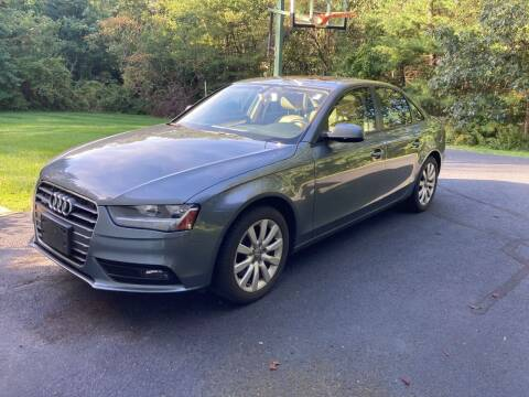 2014 Audi A4 for sale at ENFIELD STREET AUTO SALES in Enfield CT