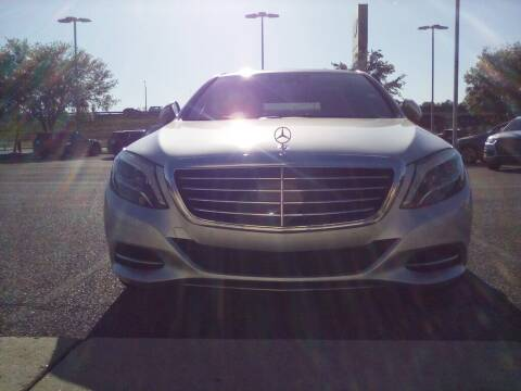 2015 Mercedes-Benz S-Class for sale at JOE BULLARD USED CARS in Mobile AL