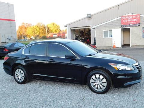 2012 Honda Accord for sale at Macrocar Sales Inc in Akron OH