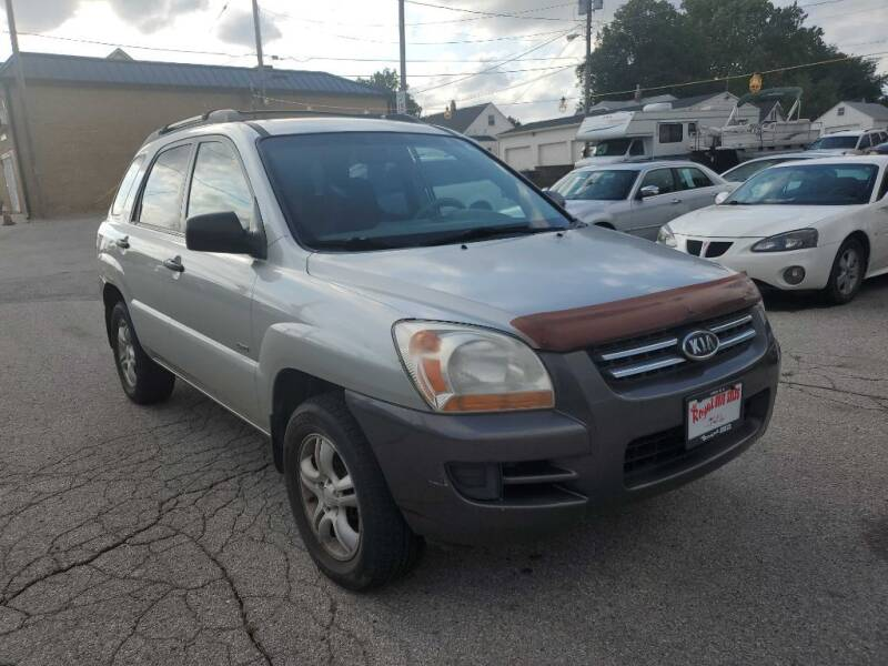 2006 Kia Sportage for sale at ROYAL AUTO SALES INC in Omaha NE