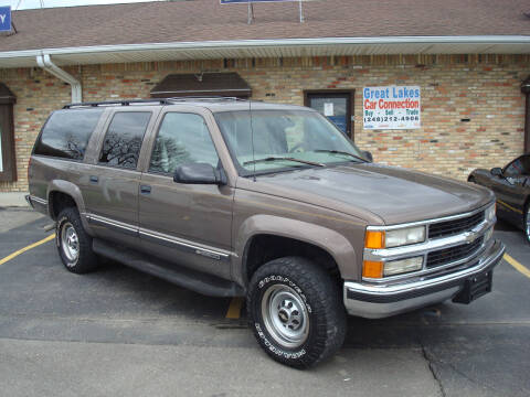 1997 Chevrolet Suburban for sale at Great Lakes Car Connection in Metamora MI