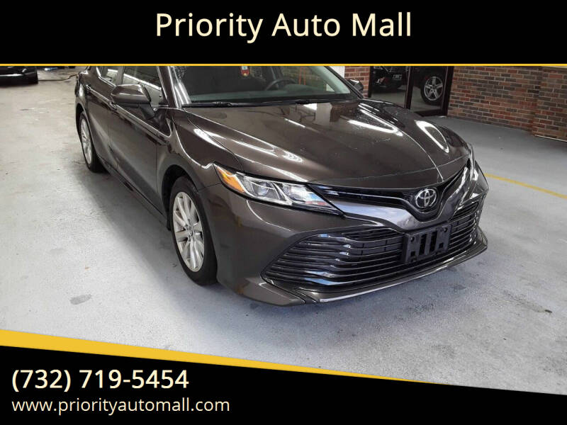 2018 Toyota Camry for sale at Mr. Minivans Auto Sales - Priority Auto Mall in Lakewood NJ