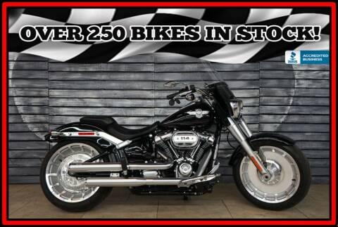 2018 Harley-Davidson FLFBS Fat Boy 114 for sale at AZMotomania.com in Mesa AZ