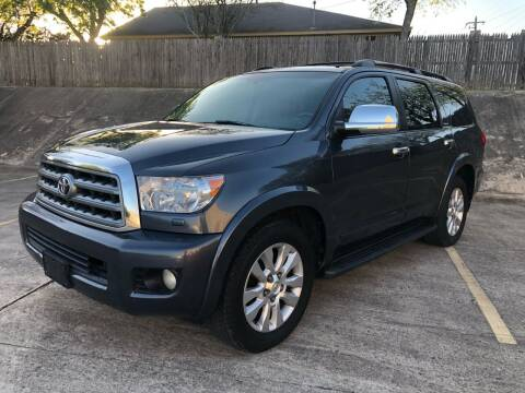 2008 Toyota Sequoia for sale at Royal Auto LLC in Austin TX