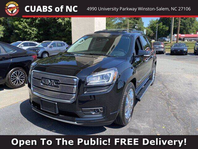 2016 GMC Acadia for sale at Summit Credit Union Auto Buying Service in Winston Salem NC