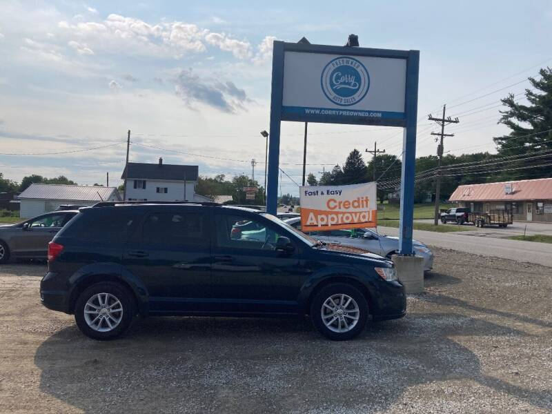 2014 Dodge Journey for sale at Corry Pre Owned Auto Sales in Corry PA