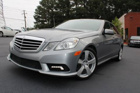 2011 Mercedes-Benz E-Class for sale at Atlanta Unique Auto Sales in Norcross GA