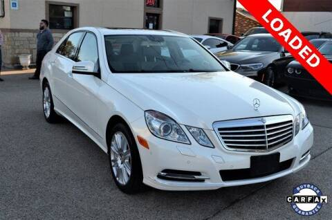 2013 Mercedes-Benz E-Class for sale at LAKESIDE MOTORS, INC. in Sachse TX