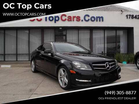 2014 Mercedes-Benz C-Class for sale at OC Top Cars in Irvine CA