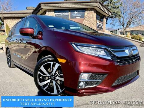 2019 Honda Odyssey for sale at TJ Chapman Auto in Salt Lake City UT
