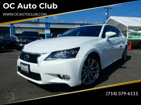 2014 Lexus GS 350 for sale at OC Auto Club in Midway City CA