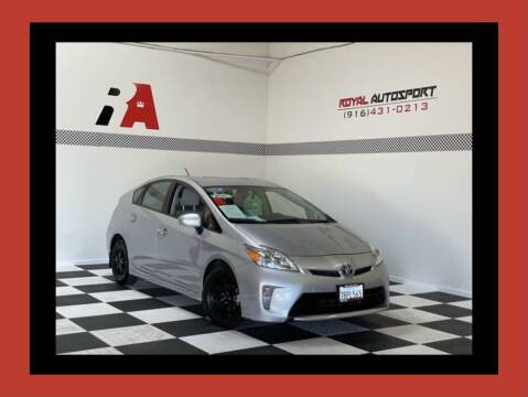 2012 Toyota Prius for sale at Royal AutoSport in Sacramento CA