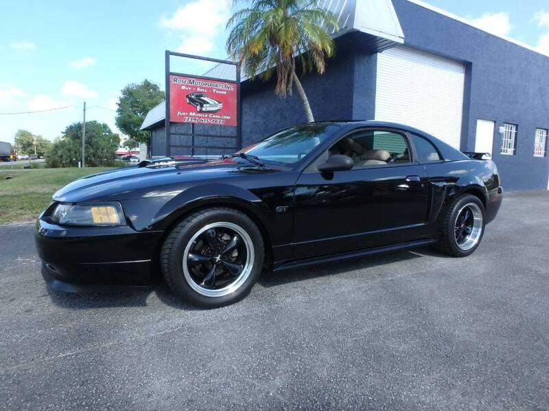 2002 Ford Mustang for sale in Fort Myers, FL