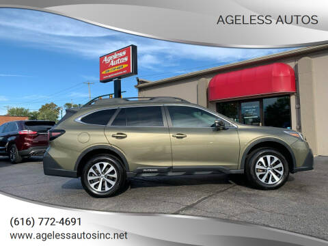 2020 Subaru Outback for sale at Ageless Autos in Zeeland MI