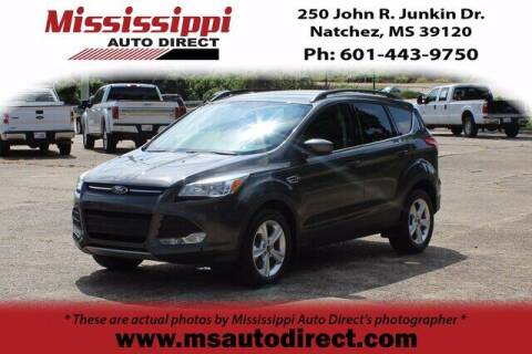 2016 Ford Escape for sale at Auto Group South - Mississippi Auto Direct in Natchez MS