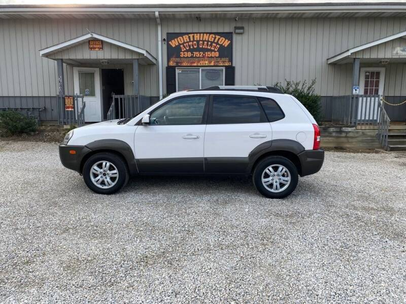 2007 Hyundai Tucson for sale at Worthington Auto Sales in Wooster OH