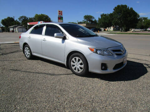 2013 Toyota Corolla for sale at Padgett Auto Sales in Aberdeen SD