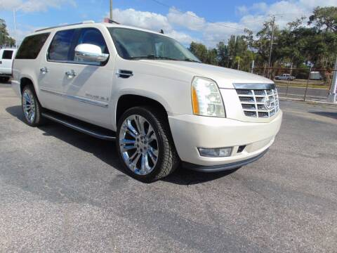 2008 Cadillac Escalade ESV for sale at Ratchet Motorsports in Gibsonton FL