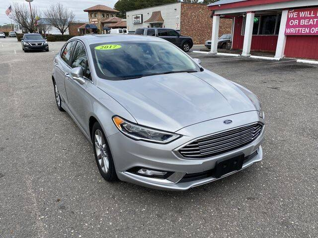 2017 Ford Fusion for sale at Sell Your Car Today in Fayetteville NC