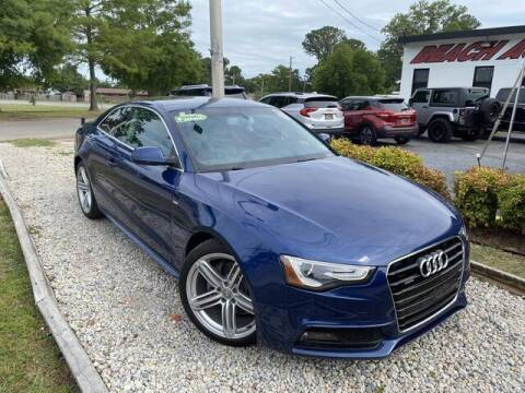 2016 Audi A5 for sale at Beach Auto Brokers in Norfolk VA