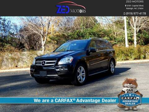 2011 Mercedes-Benz GL-Class for sale at Zed Motors in Raleigh NC