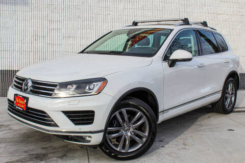 2016 Volkswagen Touareg for sale at ALIC MOTORS in Boise ID