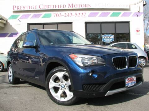 2014 BMW X1 for sale at Prestige Certified Motors in Falls Church VA