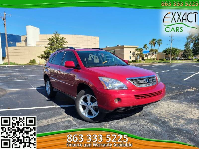 2008 Lexus RX 400h for sale at Exxact Cars in Lakeland FL