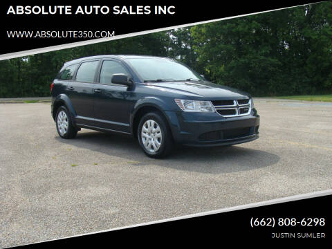 2014 Dodge Journey for sale at ABSOLUTE AUTO SALES INC in Corinth MS
