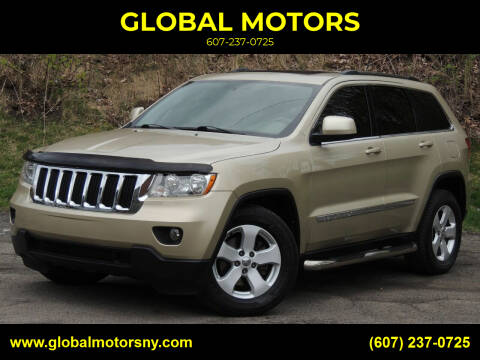2012 Jeep Grand Cherokee for sale at GLOBAL MOTORS in Binghamton NY