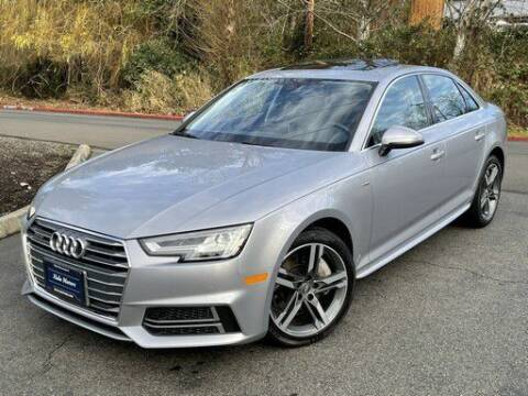 2018 Audi A4 for sale at Halo Motors in Bellevue WA