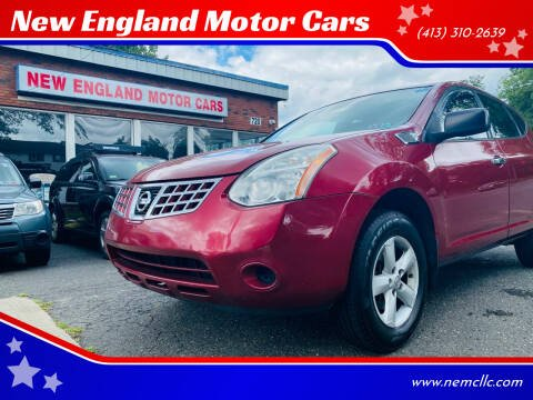 2010 Nissan Rogue for sale at New England Motor Cars in Springfield MA