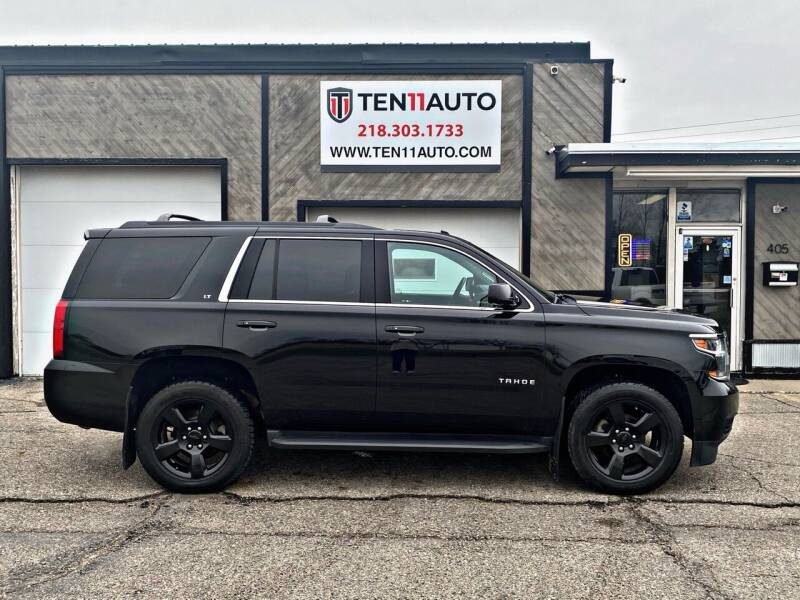 2017 Chevrolet Tahoe for sale at Ten 11 Auto LLC in Dilworth MN