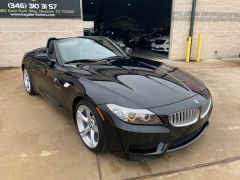 2013 BMW Z4 for sale at KAYALAR MOTORS in Houston TX