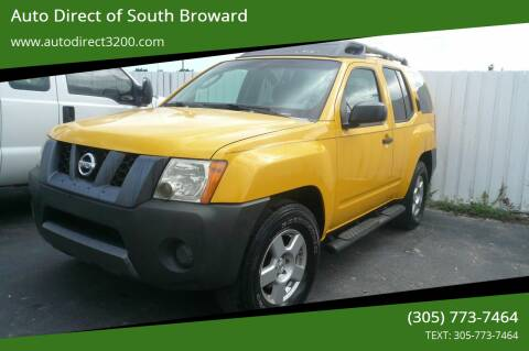 2008 Nissan Xterra for sale at Auto Direct of South Broward in Miramar FL