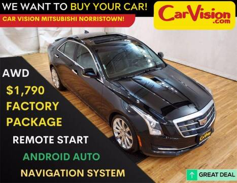 2017 Cadillac ATS for sale at Car Vision Mitsubishi Norristown in Trooper PA