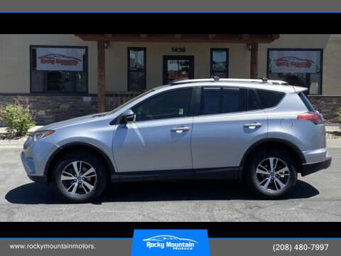 2018 Toyota RAV4 for sale at Rocky Mountain Motors in Idaho Falls ID